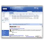 GMX is Gmail alternative with lots of features and an appealing layout.