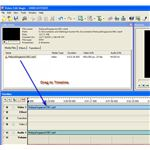 Video Edit Magic Drag To Timeline