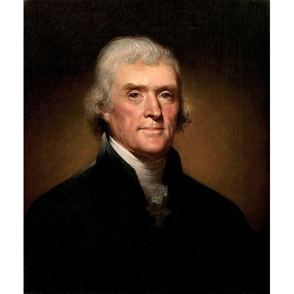 the strong leadership of thomas jefferson as the president of the united states of america Presidents and states of the united states of america,  thomas jefferson effectively re-founded the country  that damned cowboy is president of the united states.