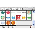 Adobe Illustrator CS3 Icons - red glass sound icon - web buttons box