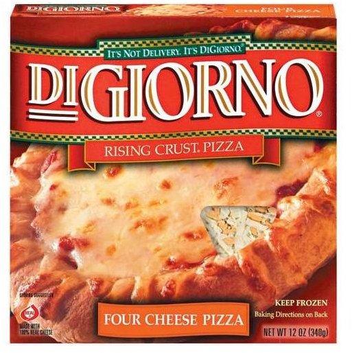 Digiorno Frozen Pizza nutrition facts about plain cheese digiorno pizza