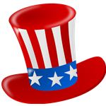 Patriotic Hat Art Project