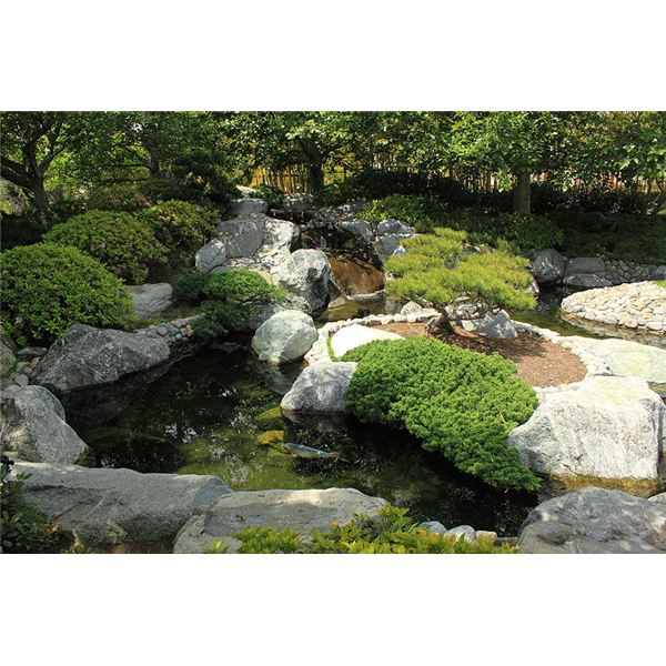 Natural landscape edging how to make your own landscaping for Garden pond edging