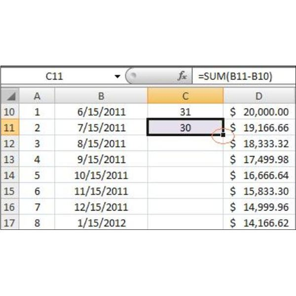 To Make A Loan Amortization Table In Excel With Free Excel