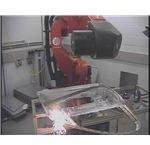 A Robot Perfoms Remote Fibre Laser Beam Welding