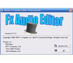 FXAudioEditorFigure01-SplashScreenWhenOpening