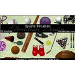 Sports Photoshop Brushes by redheadstock