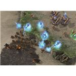 Starcraft 2 Archon - Archons destroying Zerg ground troops