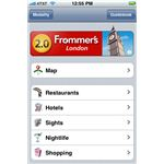 London - A Frommer's Complete Guide iPhone App