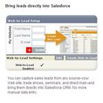 Screenshot Salesforce Leads