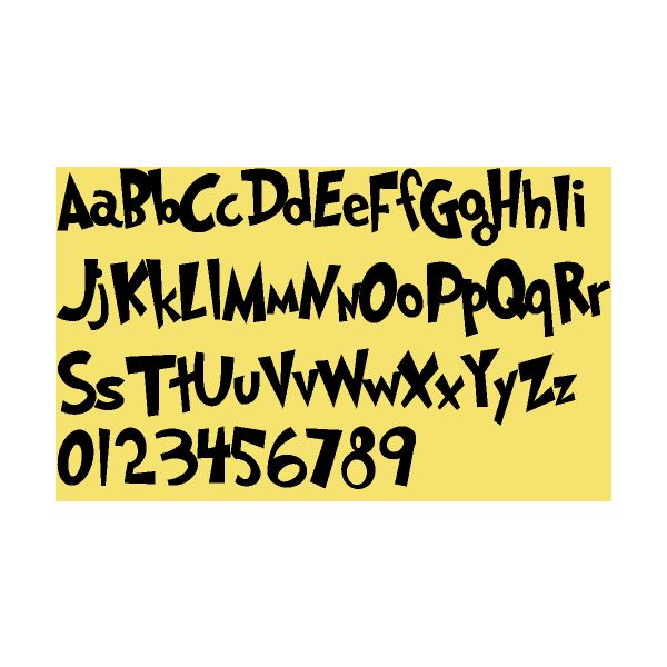 Three Free Dr. Seuss Fonts: Use for Everything from Scrapbooks to ...