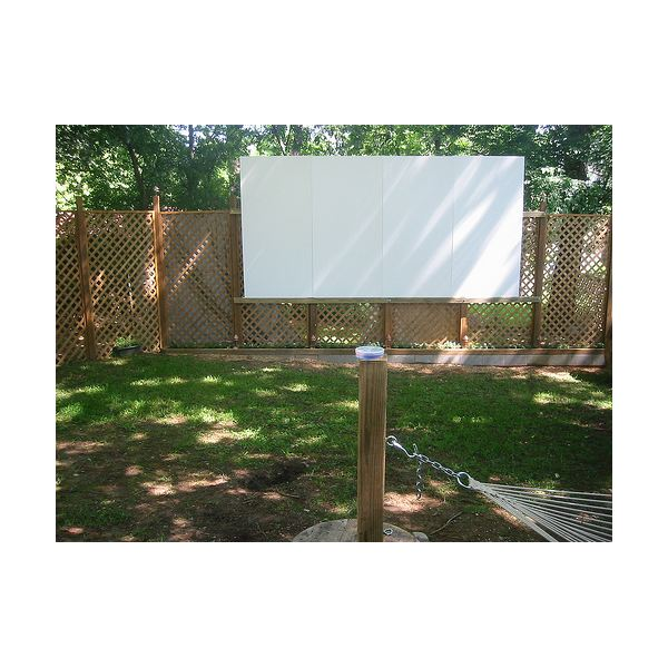 Backyard Theater Ideas budget outdoor theater ideas