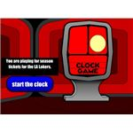 clock game screenshot
