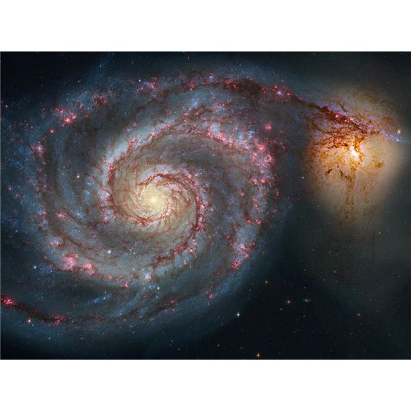 The Whirlpool Galaxy From Hubble (NASA, ESA, S. Beckwith (STScI), and The Hubble Heritage Team (STScI/AURA))