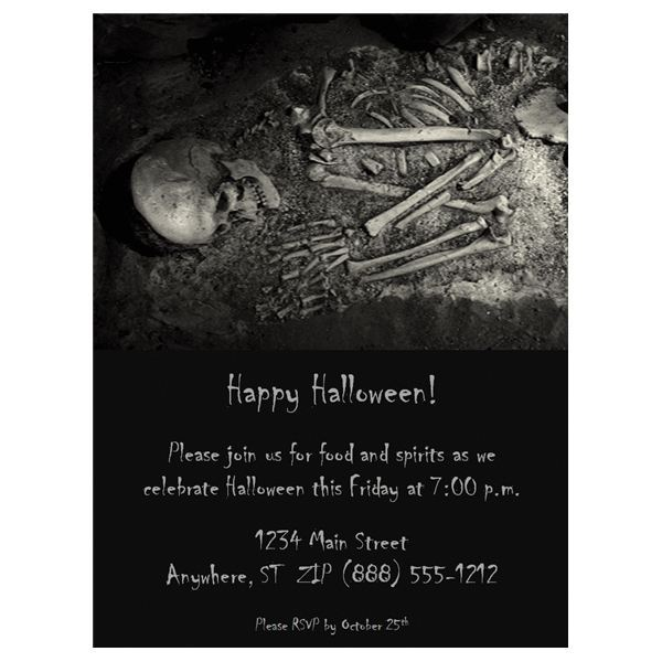 Halloween Wedding Invitations Free Templates Fun Ideas - Wedding invitation templates: free templates for wedding invitations