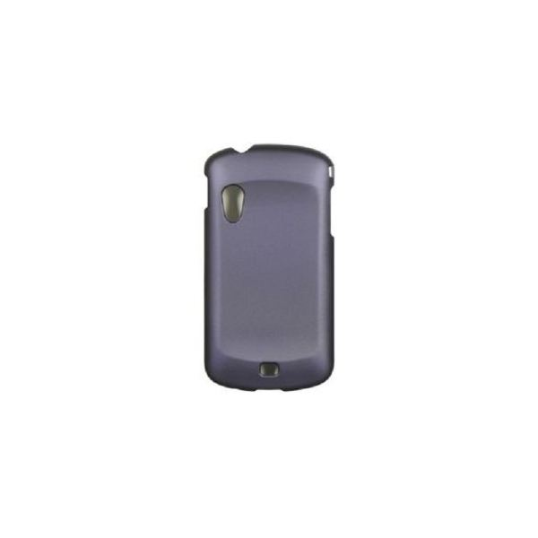 Rubberized Crystal Dr. Purple Faceplate Cover