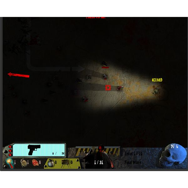 Free Shooting Games Online - Zombies in the Shadow