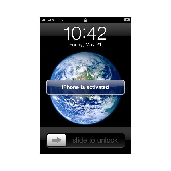 iPhone is activated