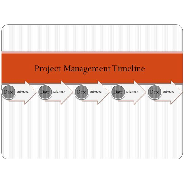 Examine these sample project timeline templates