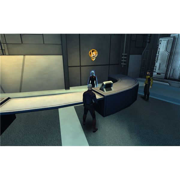 Weapons Can be Purchased from Shalah at Earth Starbase