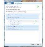 Dell PC Checkup Scan Result