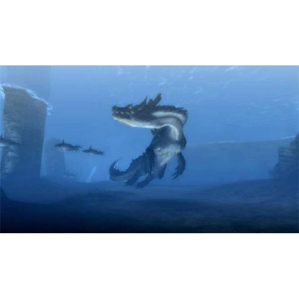 New to the Series are Underwater Quests