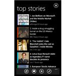 Project Emporia Automatic News Feed Aggregator for Windows Phone 7