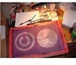 A Silkscreen Stencil