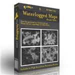 Waterlogged Map Brushes by Arbenting