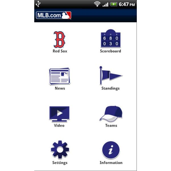 Top Android Applications - MLB At Bat