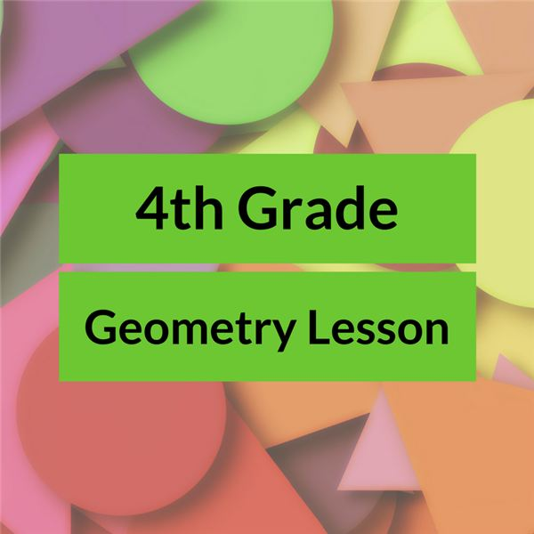 4th Grade Geometry Shapes Lesson Plan