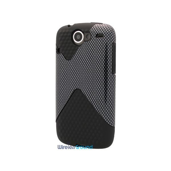 Nexus One Dual Rubberized Phone Protector Cover
