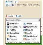Social Bookmarketing Wordpress Plug in