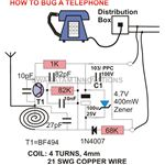How to Bug a Telephone-circuit diagram-image