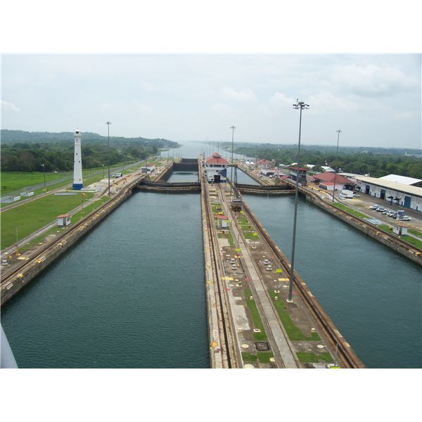 Gatun Lock Gates