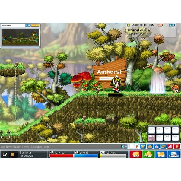 Beginner's Guide to Maple Story - Quick Overview