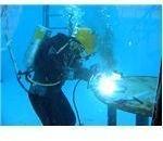 diver burning or welding