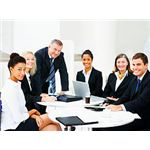 Diverse Business Meeting by Leadership Training