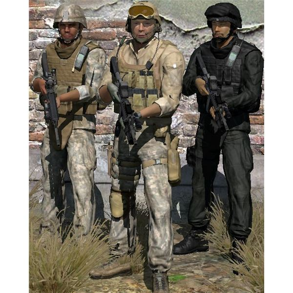 ArmA 2 Mods - Desert Mercenaries and BlackOps
