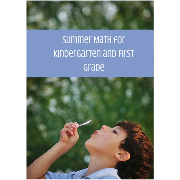Summer Math Activities for 5 and 6 Year Olds