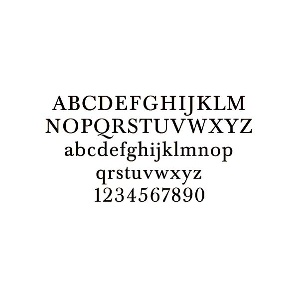 baskerville fonts,typography styles