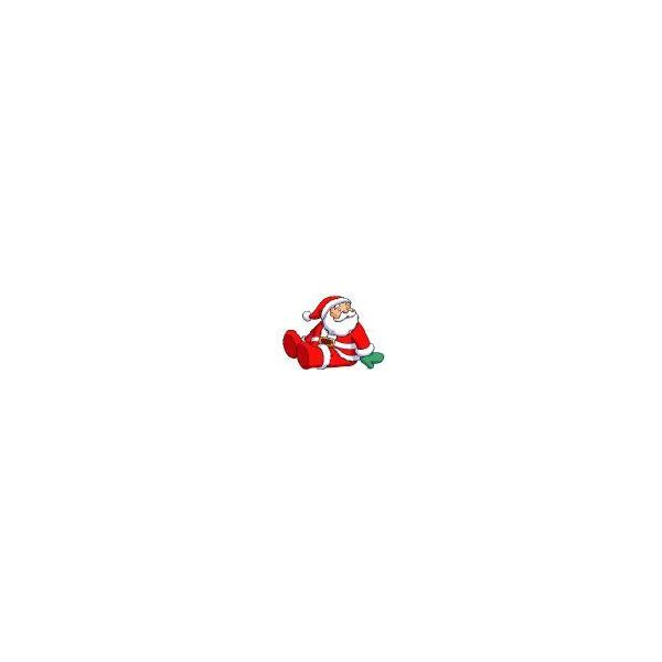 Sitting Santa Graphic