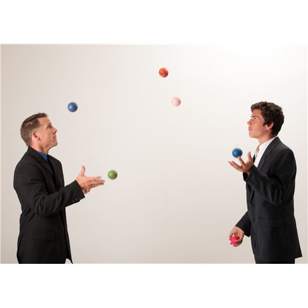 Project Management Juggling Act