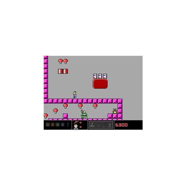 Commander Keen Game Screenshot - retro flash games