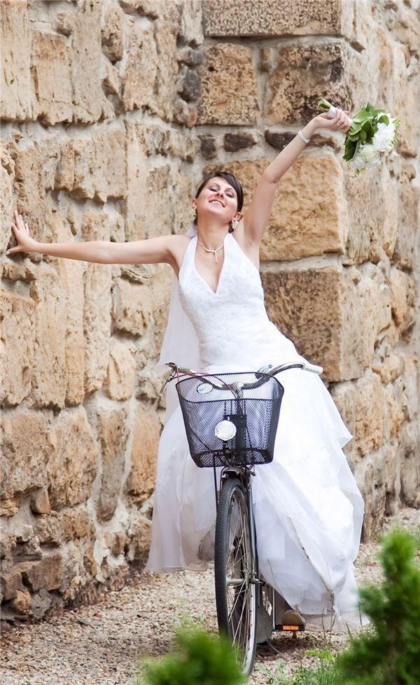 Playful Bride