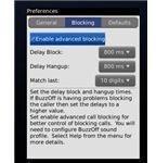 Screenshot BuzzOff App