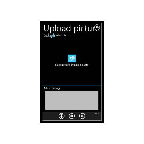 Upload images to Twitter with Pic-O-Twit