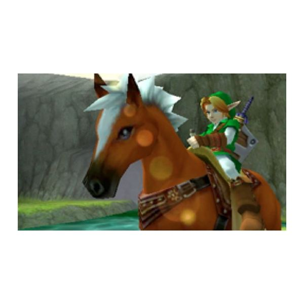 Epona in Ocarina of Time 3DS