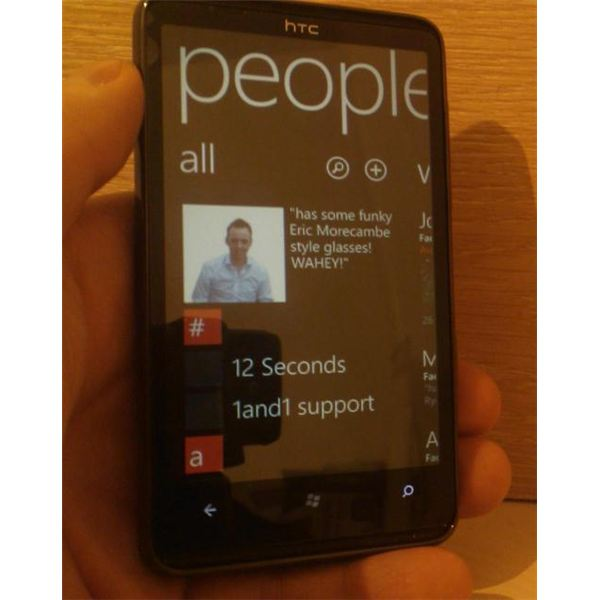 How to Organize Your Windows Phone 7 Contacts