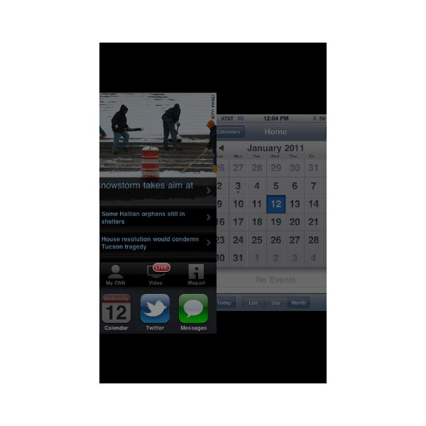 Switching iPhone Apps